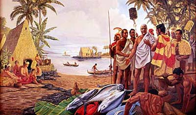 the history of the discovery of the hawaiian islands by captain james cook Captain cook killed in hawaii - feb 14, 1779 - historycom: on february 14, 1779, captain james cook, the great english explorer.